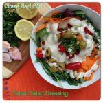 Toxin Free Paleo Tahini Salad Dressing