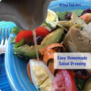 Easy Salad Dressing for Two