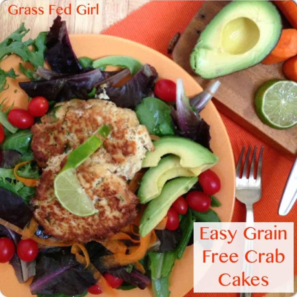 Paleo Crab Cakes