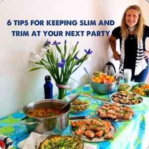 6 party tips for staying slim