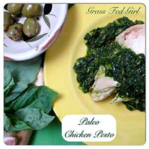 Presto! Easy Paleo Chicken Pesto