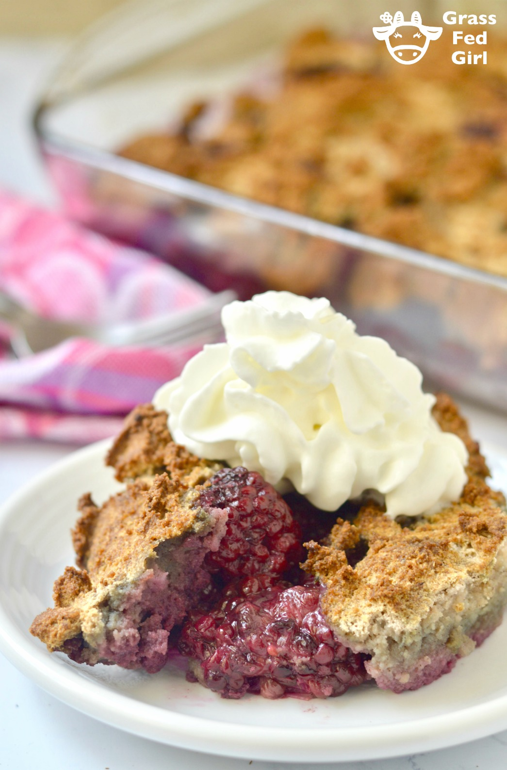Keto Blackberry Cobbler Recipe