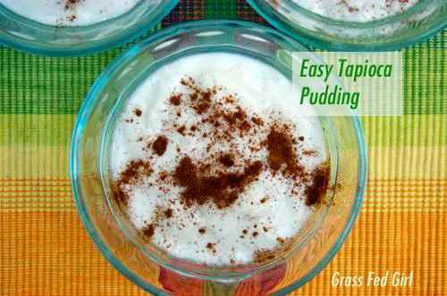 Easy Tapioca pudding