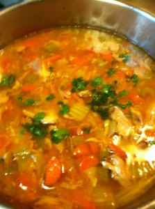 Paleo Sweet Potato Chicken Soup