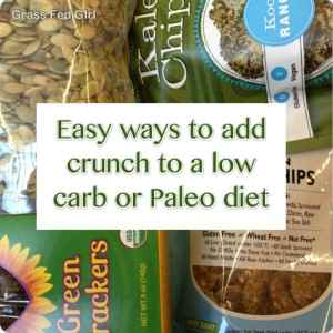 6 ways to add crunch to your low carb paleo diet