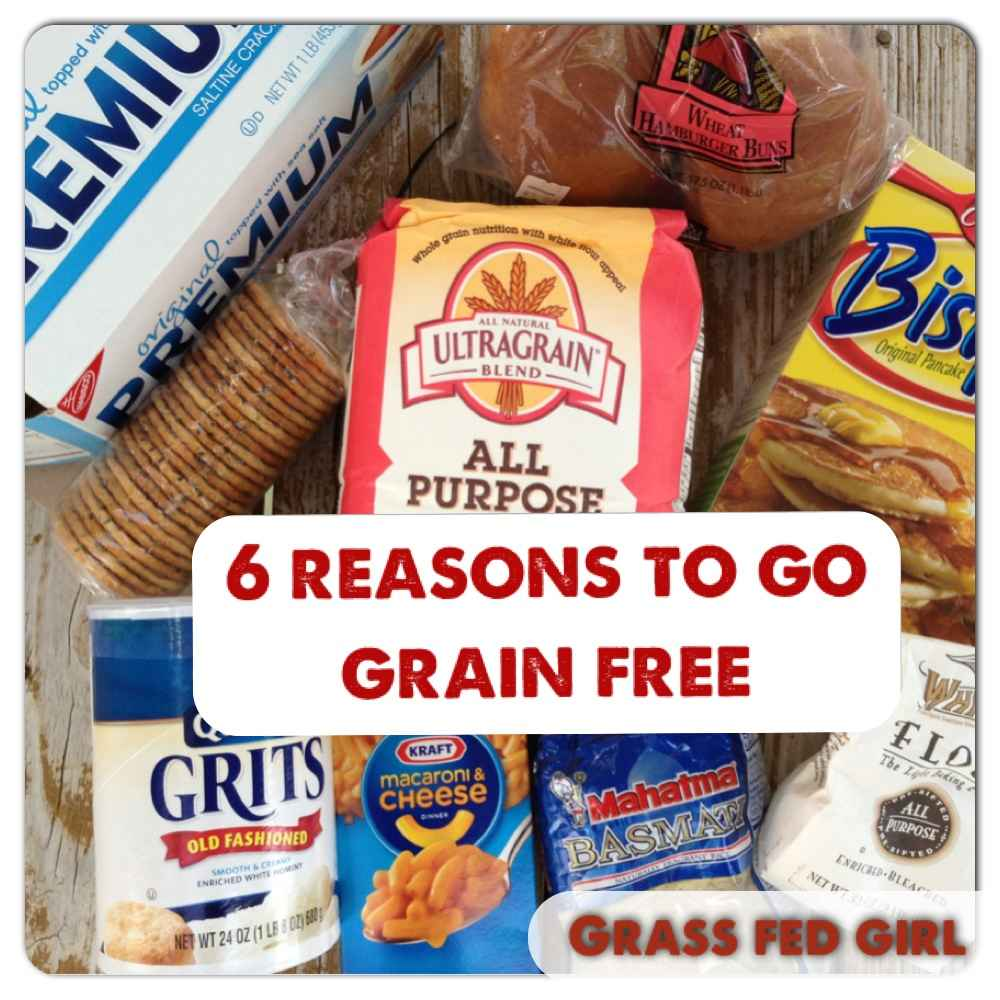 6 reasons to go grain free