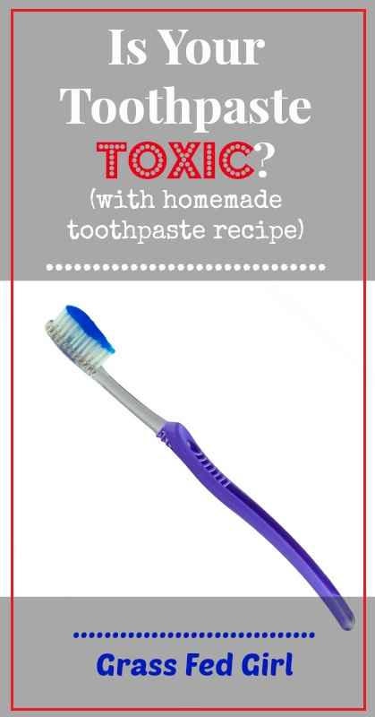 Toxin Free Toothpaste Recipe