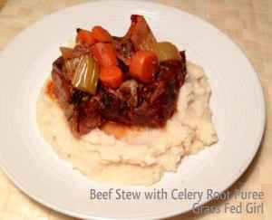 Paleo Beef Stew With Celery Root Puree