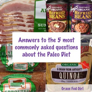 5 common paleo questions