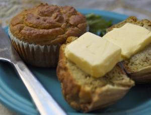 Savory Grain Free Herb Muffins