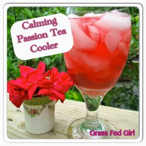 Calming Passion Tea Cooler