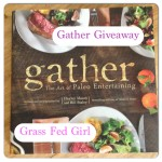 Signed Gather Paleo cookbook Review and Giveaway