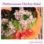 Mediterranean Paleo Chicken Salad (SCD, Gaps)