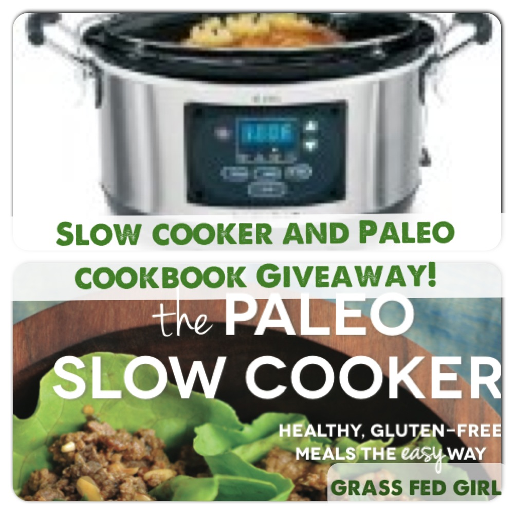 Slow Cooker and Paleo Cookbook Giveaway