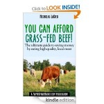 You Can Afford Grass Fed Beef Kindle Book Giveaway