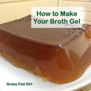 how to get gelled broth
