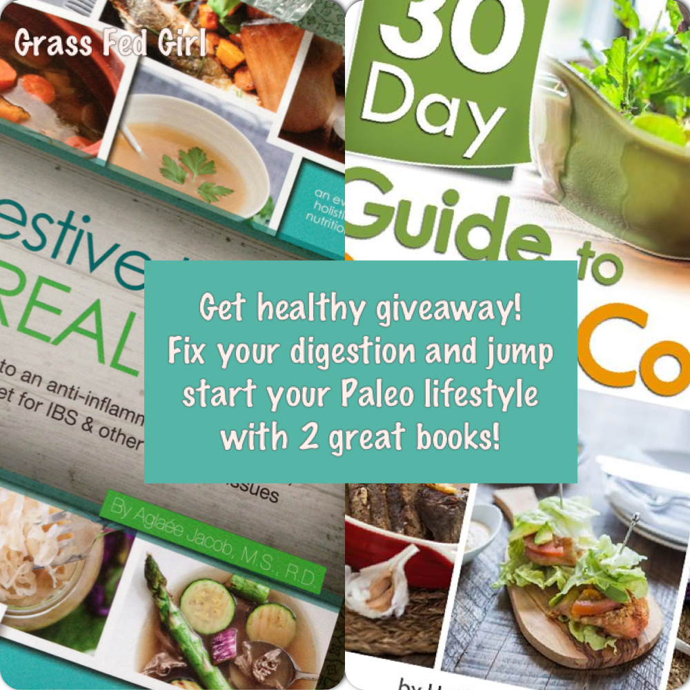 Digestive Health with Real Food and 30 Day Guide to Paleo Cooking