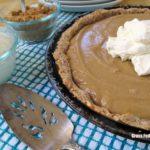 Paleo, Gluten, Grain and Dairy Free Butterscotch Pie