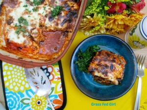 Paleo Moussaka Recipe (gluten free and dairy free)