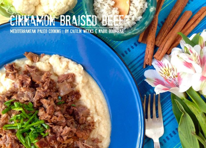 Low Carb and Paleo Cinnamon Braised Beef