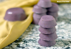 Blueberry Gelatin Gummie Bites (Paleo, Gaps, gluten and dairy free)