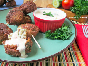 Easy Paleo and Dairy Free Falafel