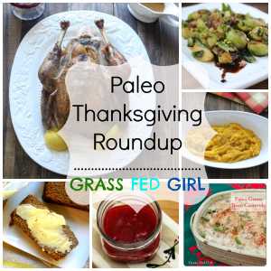 Paleo Friends Thanksgiving Roundup