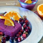 Cranberry Orange Gelatin with Walnuts (Paleo, gluten and dairy free, Gaps, SCD)