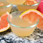 Tart and Fresh Grapefruit Gelatin (gluten and sugar free)