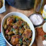 Paleo Chicken Mushroom Tajine with Saffron and Truffle Oil (gluten free, SCD and Gaps)