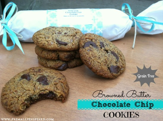 browned butter choc chip