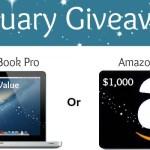 Epic January Mac Book Giveaway!
