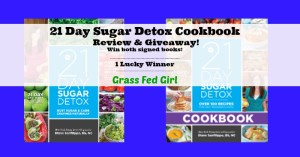 21 Day Sugar Detox Cookbook Review and Giveaway