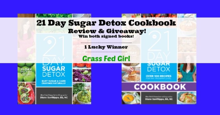 21 Day Sugar Detox Cookbook Review