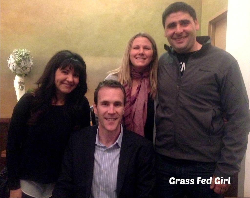 Chris Kresser Book signing party