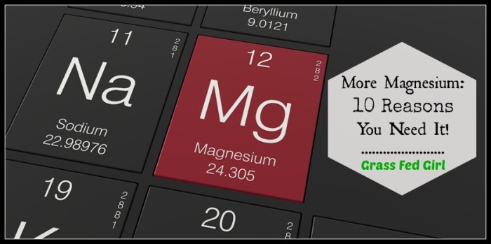 10 reasons you need more magnesium