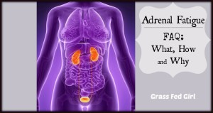 Adrenal Fatigue FAQ: what, how, and why...