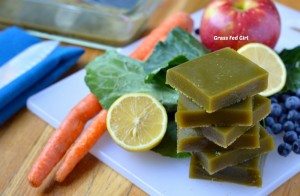 green juice gelatin gummies