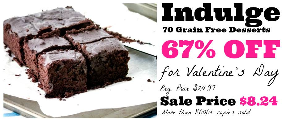 Grain Free Dessert Book Sale
