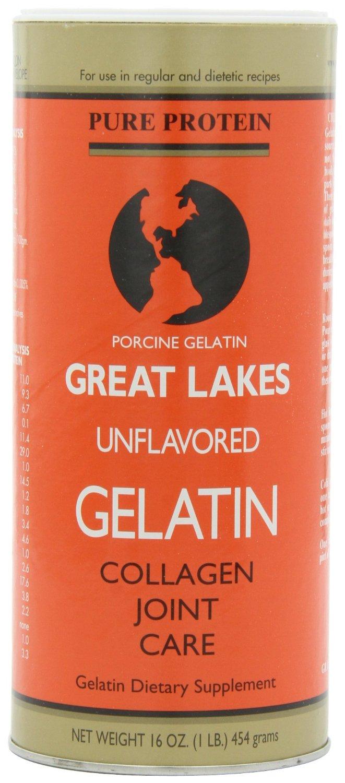 Porcine gelatin will gel in recipes