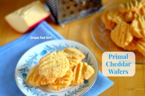 Grain free Primal Cheddar Wafers