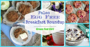 Top 20 Egg-Free Paleo Breakfast Ideas (gluten free, dairy free, grain free)
