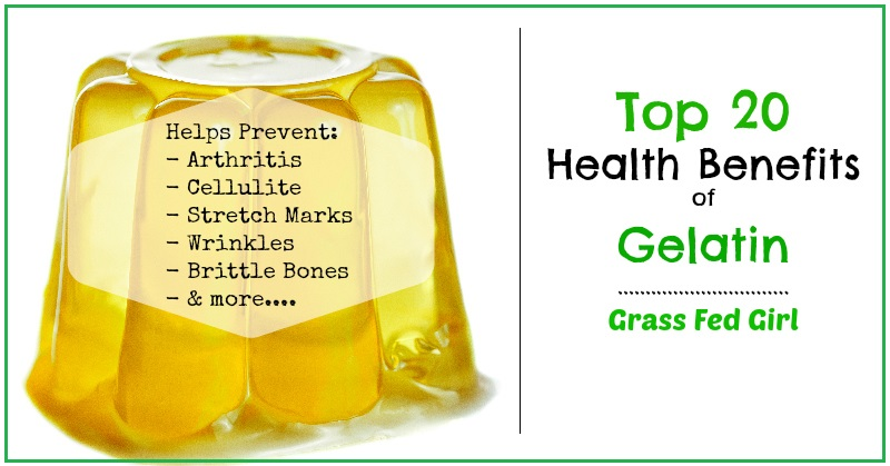 20 Benefits of Gelatin