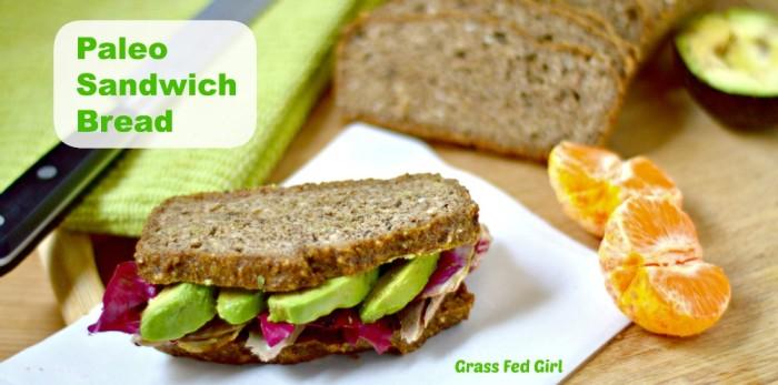 Paleo Sandwich Bread |Grain Free Bread Recipe