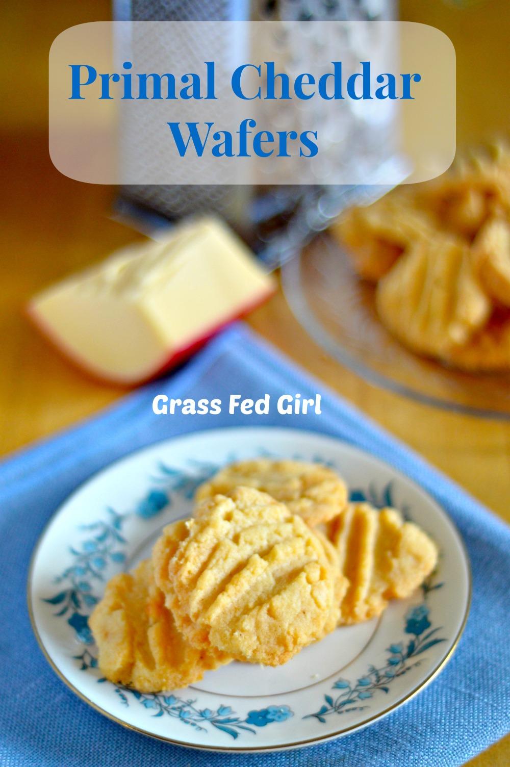 primal grain free cheddar wafers recipe