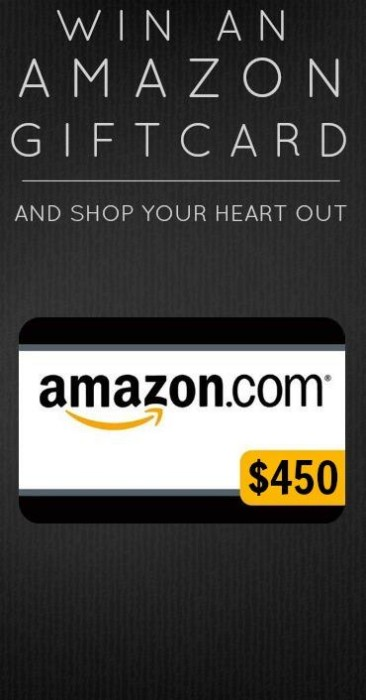 $450 amazon Gift Card Giveaway March 2014