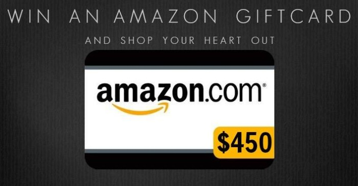 March Giveaway $450 Amazon Gift Card