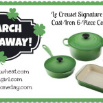 March Le Creuset Cookware Set Giveaway