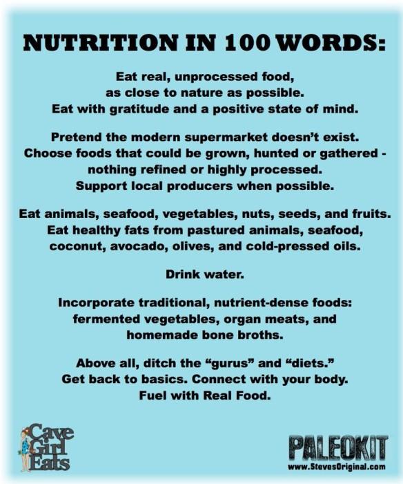 nutritionin100words