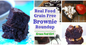 real food grain free brownierounup